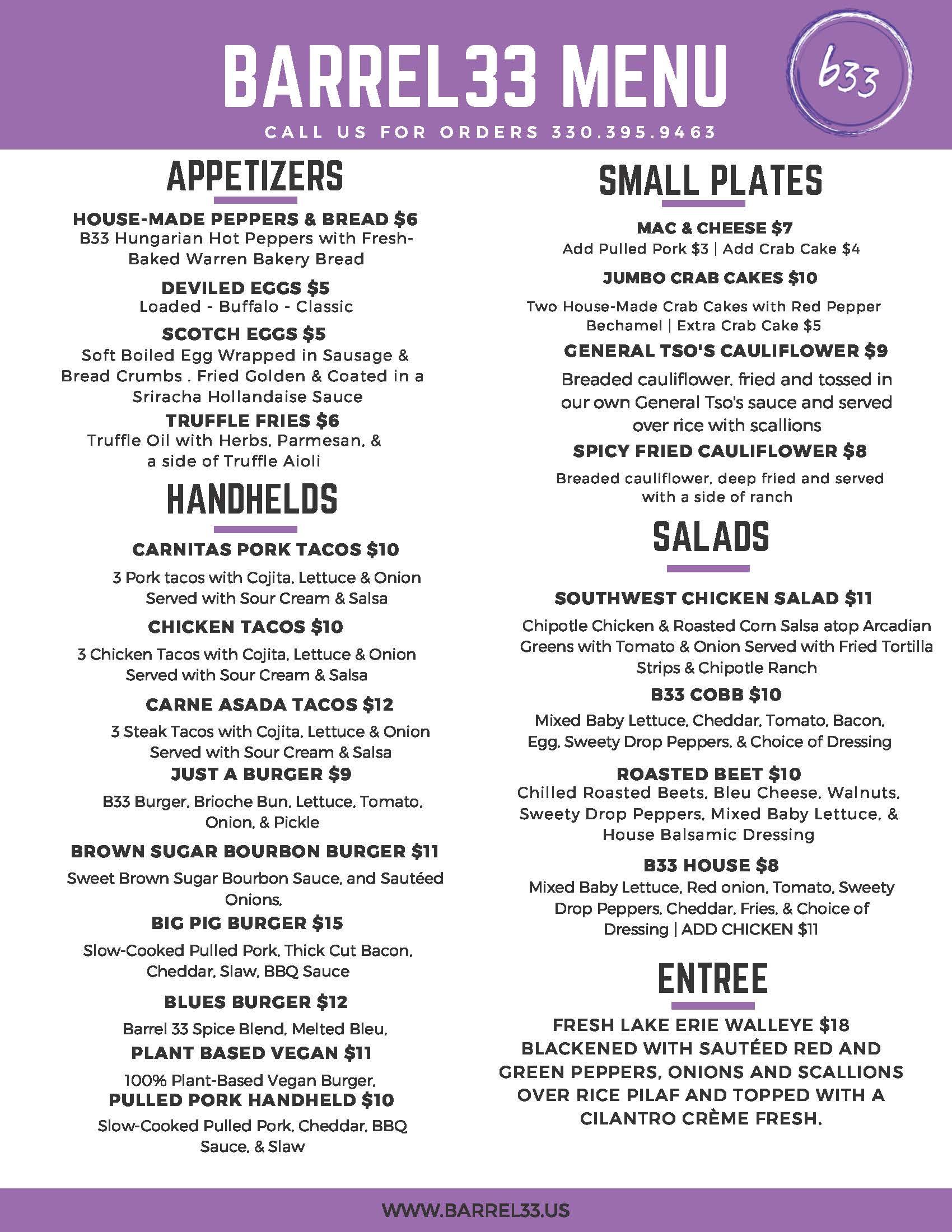 menu january 21 no filet